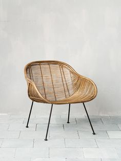 Cane chair by Chehoma. Nice vintage touch.