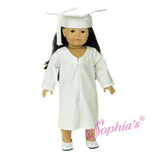 """Graduation outfit that fits 18"""" american girl dolls. Use special discount code PIN10"""