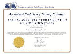 CALA: Proficiency Testing Main Page