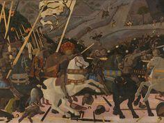 'Battle of San Romano' - Uccello