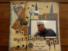 Scrapbook page by Angela Bolton