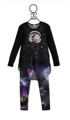 Tru Luv Graphic Tunic and Leggings Set PREORDER $79.00