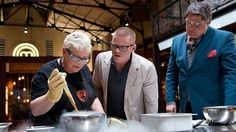 I like this image because it shows Heston teaching his cooking methods. Figure 12