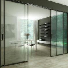 Binnen Schuifdeuren In Glas.11 Beste Afbeeldingen Van Glazen Schuifdeur Home Decor Doors En