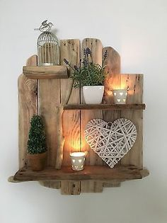 Crafted from driftwood sourced on Littlehaven beach, South Shields. Hook added for wall hanging. Shabby Chic Shelves, Rustic Shabby Chic, Storage Shelves, Shelving, Driftwood Shelf, Coastal Living, Floating Shelves, Wood Crafts, Woodworking Projects