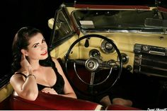 Girls and Hot Rods