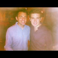 Ryan Kelly and Emmet Cahill of Celtic Thunder