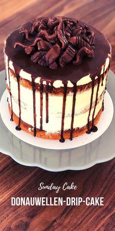 Cookie Desserts, Dessert Recipes, Drip Cakes, Cupcakes, Yummy Cakes, Tiramisu, Sunday, Sweets, Cookies