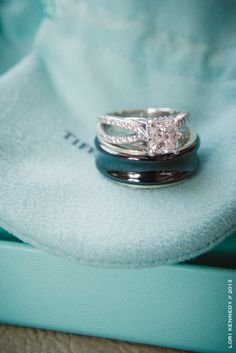 ♡ Tiffany blue #engagement #wedding #rings ... For wedding ideas, plus how to organise an entire wedding, within any budget ... https://itunes.apple.com/us/app/the-gold-wedding-planner/id498112599?ls=1=8 ♥ THE GOLD WEDDING PLANNER iPhone App ♥  For more wedding inspiration http://pinterest.com/groomsandbrides/boards/ photo pinned with love & light, to help you plan your wedding easily ♡