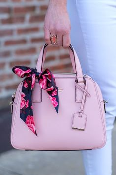 Meet the brand new cameron street little babe from @katespadeny. I'm loving this ladylike silhouette and the feminine pink. It also comes in black and a pretty coral color they're calling punch. In partnership with #katespadeny