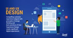 Sprink Digital, a UX design firm, creates engaging experiences for the customers with a variety of elements including interactive designs, usability testing, visual designs etc. Ui Ux Design, Design Agency, Design Firms, Graphic Design, Customer Experience, User Experience, Usability Testing, Principles Of Design, Interactive Design