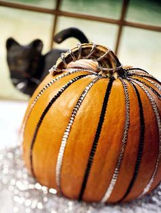 C.B.I.D. HOME DECOR and DESIGN: FALL DECOR: THE HUMBLE PUMPKIN GOES GLAM
