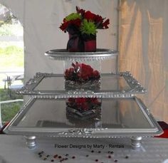 Not this one but I get what they did to make a snack or cupcake stand, very neat