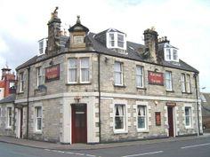 Railway Tavern. East Fife coastal village of Buckhaven