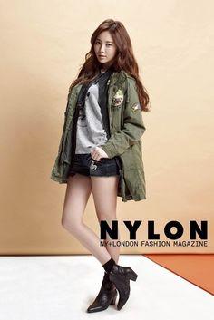 Girl's Day member Yura in Nylon Magazine