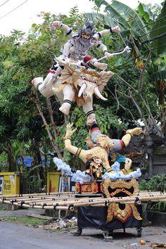 Bali - ogoh ogoh Festival