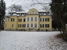 "The ""real"" Von Trapp villa from Sound of Music. Stayed here for one night at this great bed and breakfast in Maria Von Trapp's room. In Austria, Salzburg."