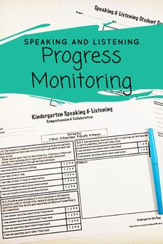 Common Core Speaking & Listening Rating Scales are informal evaluation tools to help determine education impact of speech & language disorders in the classroom, as well as to aide in documenting standard mastery, therapy baselines and postlines, or progress monitoring from grade to grade.