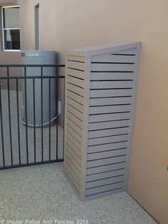 Aluminium Pool Pump And Gas Bottle Covers - Sorrento - Gold Coast | Insular Patios & Fencing