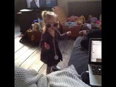Baby Lux dancing to Kiss You! So cute!!!!