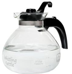 Shop the latest collection of (Ship USA) 12 Cup Glass Stovetop Whistling Tea Pot Hot Boil Water Kettle Coffee Ccocoa Soup /ITEM NO Rosotion from the most popular stores - all in one place. Similar products are available. Glass Teapot, Thing 1, Gas And Electric, Cast Iron Cookware, Best Tea, Gas Stove, Brewing, Tea Pots, Tea Kettles