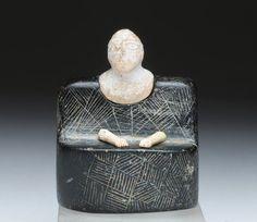 Bactria Margiana (current Afghanistan/Turkmenistan), composite stone idol, 2500/1800 BCE.