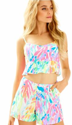 af1fca7f92e1ca Lily Pulitzer Shorts, Lilly Pulitzer Prints, New Outfits, Knit Dress, Gym  Shorts