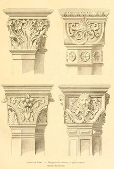 img/dessins meubles mobilier/chapiteaux de colonnes genre moderne.jpg