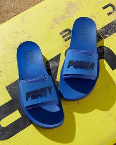 c95c4d14fa2ae The new  FENTYxPUMA Surf Slides are available now! Get yours at puma.com