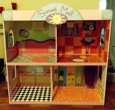 Inspiration: 2 HUGE Barbie Doll Size Houses and 1 Barbie Doll Size Shopping Mall Lot  #BarbieorSimilar