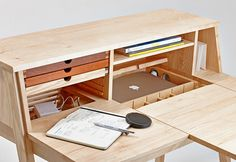 SIXTEMATIC BELLE - 2:1 make up stand & writing desk Mysterious Belle seduces by her multifunctional lightness. Hidden compartments allow using her as a modern multimedia station, providing space for e.g. a laptop, a tablet or a smartphone docking statio…
