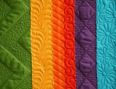 Great Practice Ideas ...also great for showcasing one's quilting skills to prospective clients.....vwr