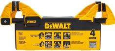 Choose this DEWALT Medium and Large Trigger Clamp for a variety of jobs including holding, spreading and glue ups. Dewalt Storage, Dewalt Tools, Get The Job, Clamp, Home Depot, Woodworking, Packing, Medium, Model