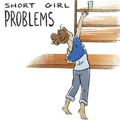"I'm 5'6"". I definitely have this problem."
