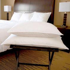 WHITE GOOSE CHAMBER HOTEL PILLOW