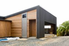 Plans For Storage Shed Free Code: 1930734977 House Cladding, Exterior Cladding, House Siding, Garage House, Open House Plans, Pergola Carport, Garage Addition, Modern Garage, Small Modern Home