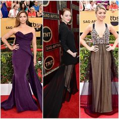 """""""Loved these memorable #redcarpet statements at last night's #SAGAwards! #CamilaAlves looked stunning in a classic and elegant ensemble, while #fashion…"""""""