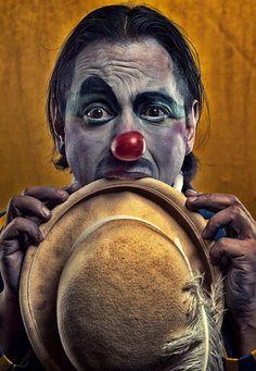 Clown Makeup, Halloween Face Makeup, Makeup Photography, Portrait Photography, Creepy Clown, Scary, Send In The Clowns, Bizarre, Emotion