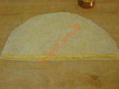Patatesli Çıtır Börek Tarifi Yapılış Aşaması 7/16 Desserts, Food, Tailgate Desserts, Deserts, Essen, Postres, Meals, Dessert, Yemek