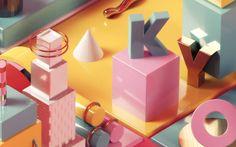 Pastel-Colored Digital Artworks – Fubiz Media