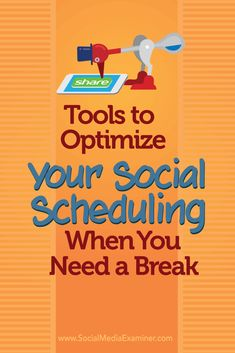 Ever want to take a day off from posting on social media? Discover how to keep your social media accounts stocked with content when you're on break.