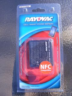 Rayovac CEL11190A Battery for Samsung Galaxy 2 Cell Phone NEW IN PACKAGE #Rrayovac