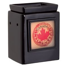 CUBE EBONY GALLERY WARMER WITH TRUE NORTH GALLERY FRAME  https://bethanyauth.scentsy.us/Buy/ProductDetails/28867