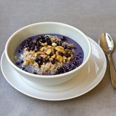 Wild Blueberry Chia Oatmeal