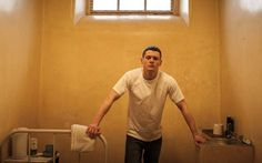Jack O'Connell in Starred Up as Eric Love!  Yes please!