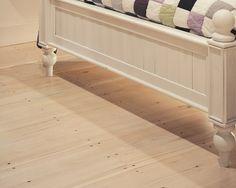 Eastern White Pine Bedroom | Carlisle Wide Plank Flooring