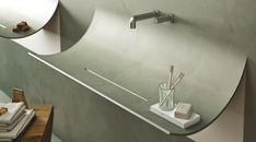 Graues SKIN Waschbecken passt perfekt zum modernen Badezimmer