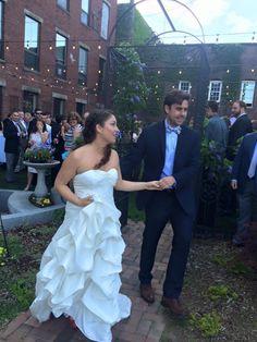 Wedding at the White Room. Congrats Karen and Matt!