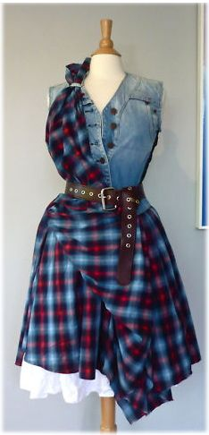 ALEXANDER MCQUEEN tartan - Different tartan, a bit longer... yeah!