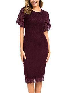 Mini Dresses For Women, Dresses For Teens, Elegant Dresses, Nice Dresses, Vintage Dresses, Junior Formal Dresses, Floral Lace, Vintage Floral, Short Sleeve Dresses